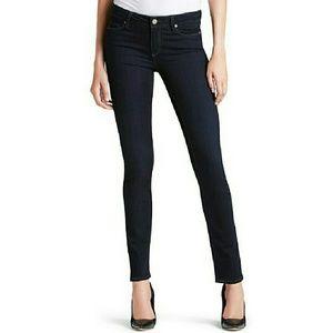 PAIGE Skyline Skinny Jeans Dark Wash Denim 31